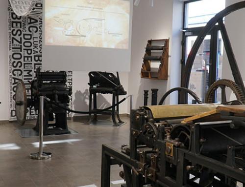 Aranżacja ekspozycji, scenariusz wystawy i dokumentacja przetargowa Muzeum Drukarstwa w Nowym Targu