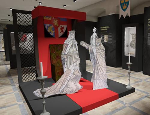 Aranżacja ekspozycji, scenariusz wystawy i dokumentacja przetargowa w Darłowie